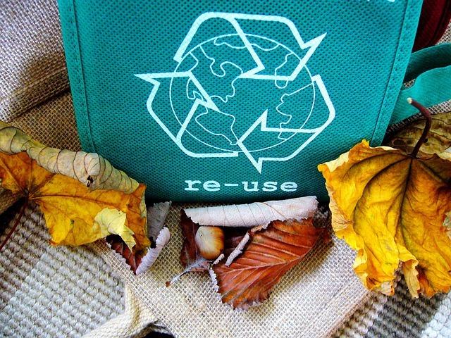 Una vida saludable con productos biodegradables o reutilizables